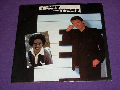 bc0812d24d667 Paul McCartney Stevie Wonder Ebony And Ivory - Rainclouds Vinyl 45   Pic  Sleeve