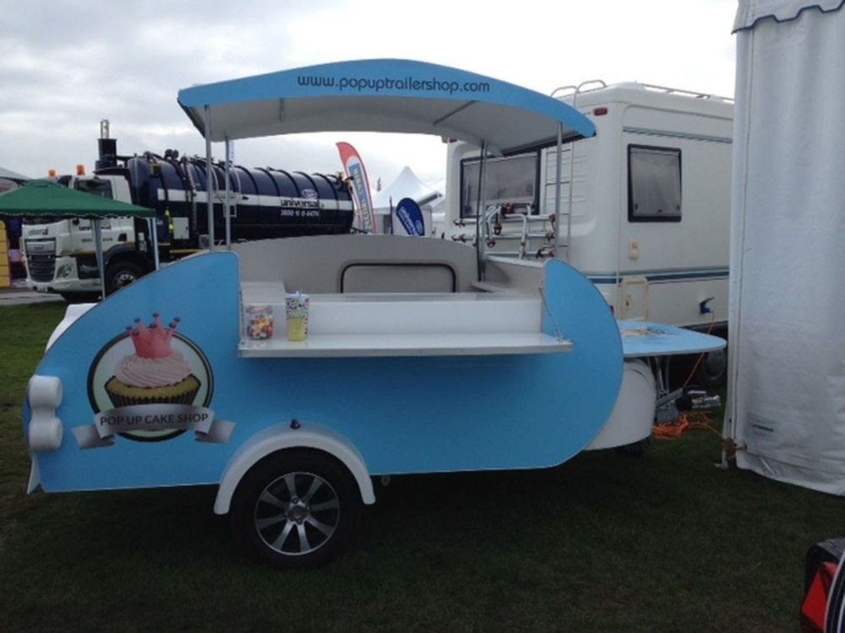 Pop Up Teardrop Trailer Shop Exeter Teardrop Trailer Catering