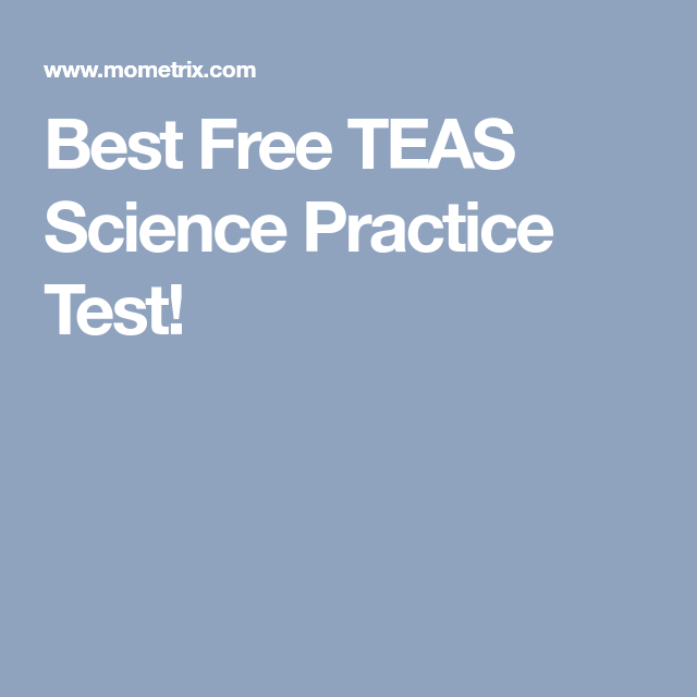 Best Free TEAS Science Practice Test! | Anatomy and