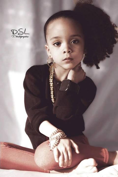 Awww she adorable with her lil swag☺ http://www.flyabs.com ...