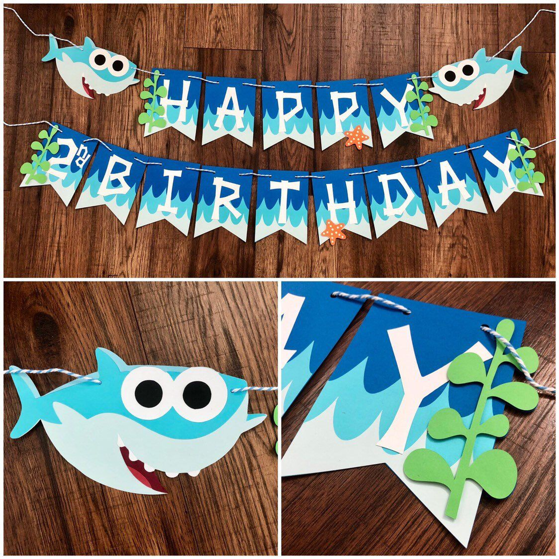Excited To Share This Item From My Etsy Shop Baby Shark Birthday Banner Shark Banner Sh Shark Themed Party Shark Theme Birthday Shark Themed Birthday Party