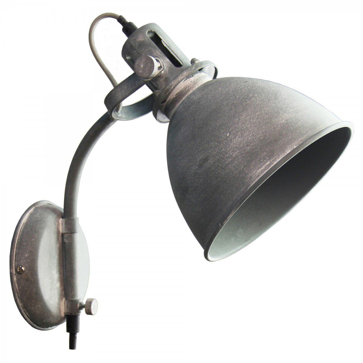 wandlamp retro & vintage Newton cement