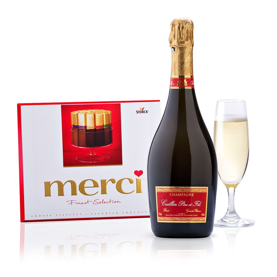 Champagne With Merci Chocolates European Chocolate Merci Chocolate Chocolate