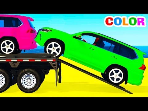 سيارات اطفال كبيرة كارز اطفال يلعبون Cars 2 Mcqueen Youtube Kids Nursery Rhymes Coloring For Kids Learning Numbers