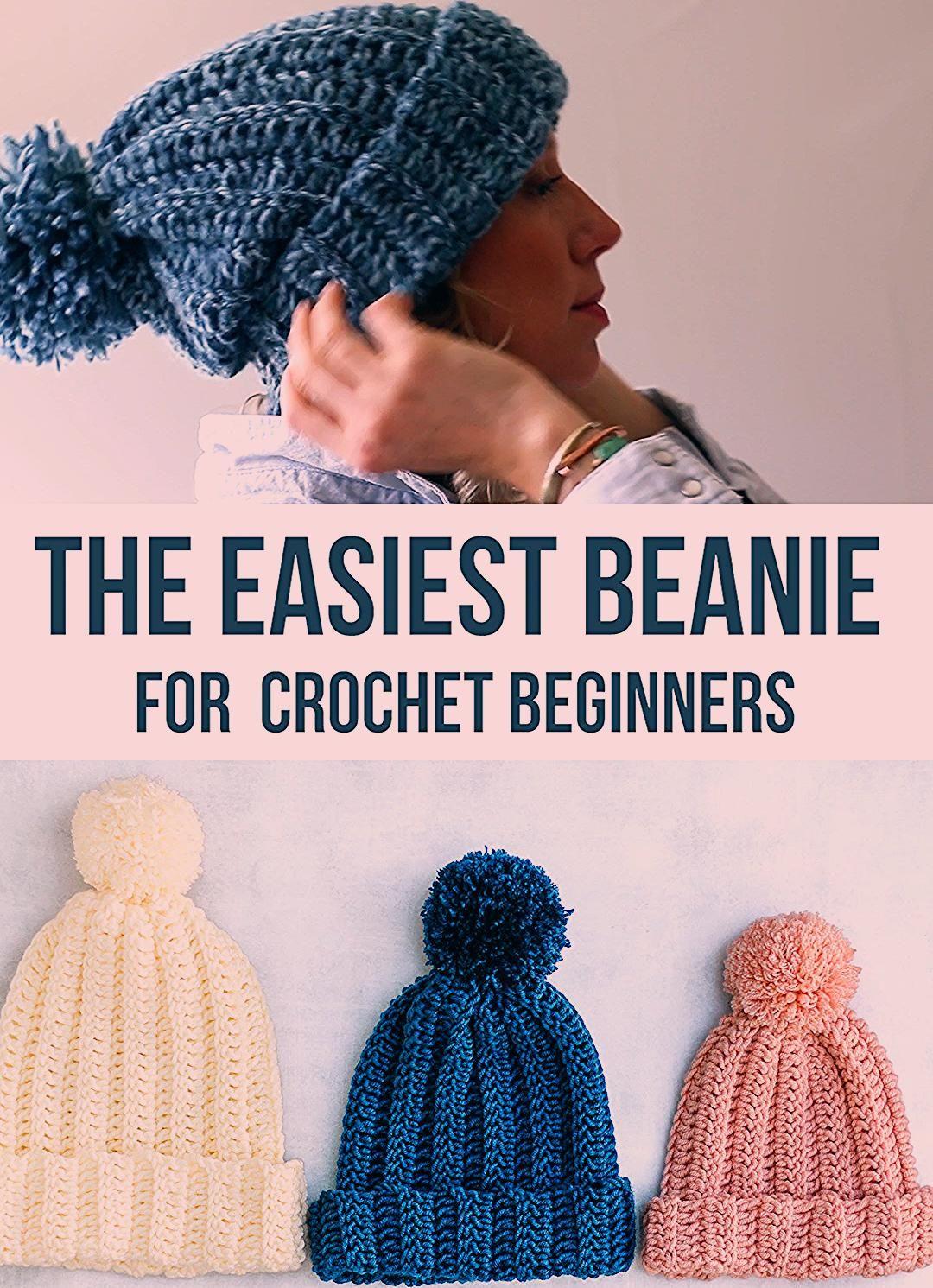 Photo of Easy Crochet Beanie Hat – Free Pattern + Video Tutorial