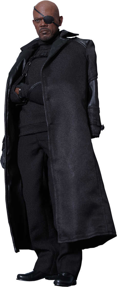 Marvel Nick Fury Sixth Scale Figure By Hot Toys Nick Fury Nick Fury Movie Hot Toys
