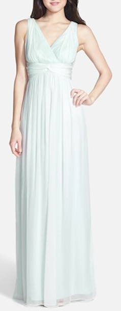 Lovely Mint Bridesmaid's Dress from Donna Morgan at Nordstroms!