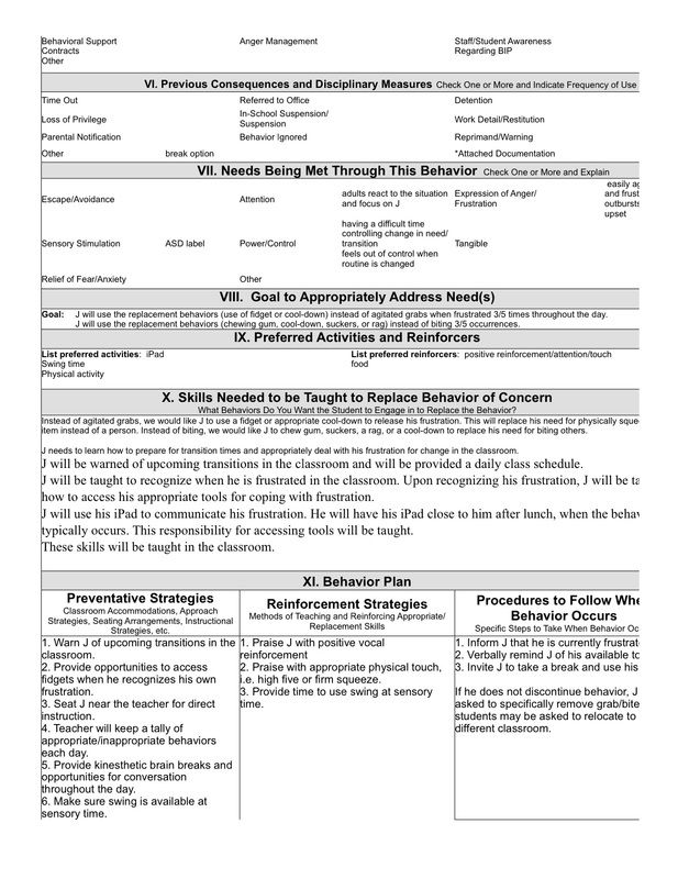 examples of classroom functional behavior analysis - Saferbrowser - educational assistant sample resume