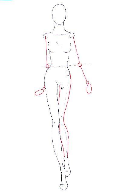 How To Draw Walking Poses I Draw Fashion Fashion Figure Drawing Fashion Drawing Illustration Fashion Design