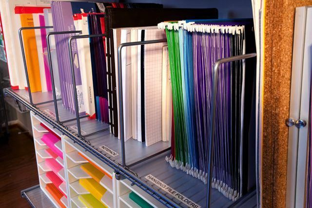 File Don T Pile Office Supply Organization Office Organization Tips Office Organization At Work