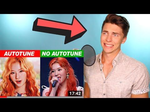Vocal Coach Justin Reacts To Kpop Idols Autotune Vs No Autotune Mv Vs Live Part10 Youtube Vocal Coach Free Singing Lessons Singing Lessons