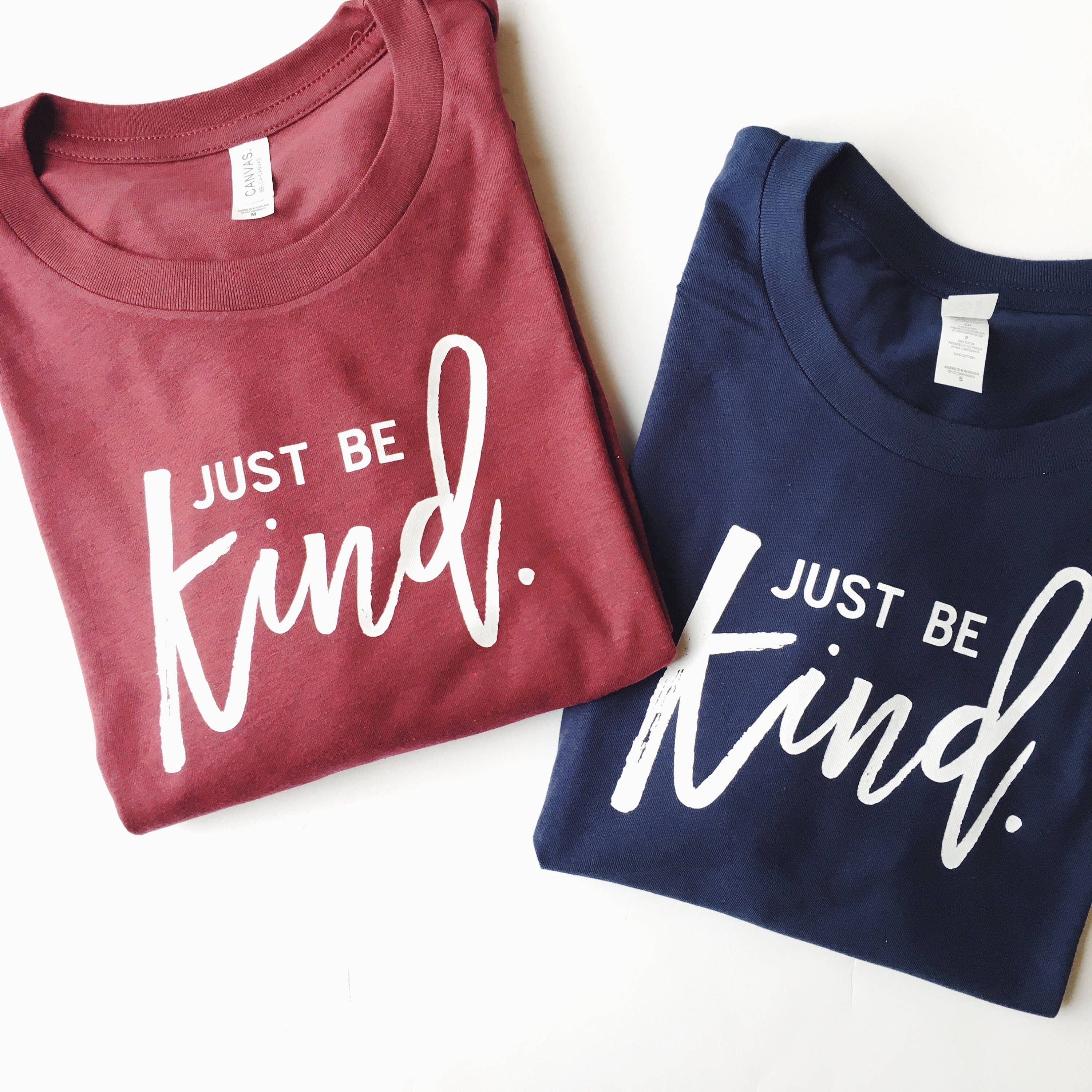 d825284e5 Just Be Kind © THE ORIGINAL | Kindness Matters | Kindness Shirt | Trendy  Tees for