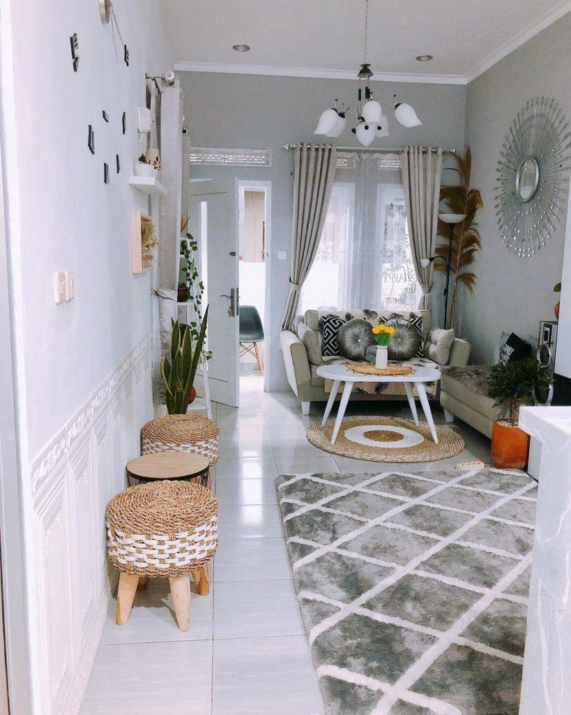 21 Desain Ruang Tamu Minimalis Yang Asri Dan Sederhana Ide Dekorasi Rumah Dekor Ruang Tamu
