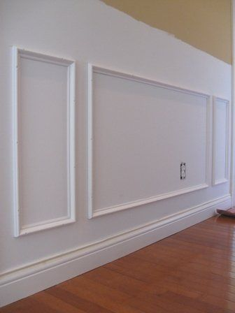 Purchase Picture Frames From Michael S Install And Paint Over