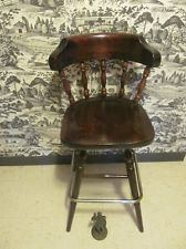 Ethan Allen Bar Stool Antiqued Old Tavern Pine Collection 12
