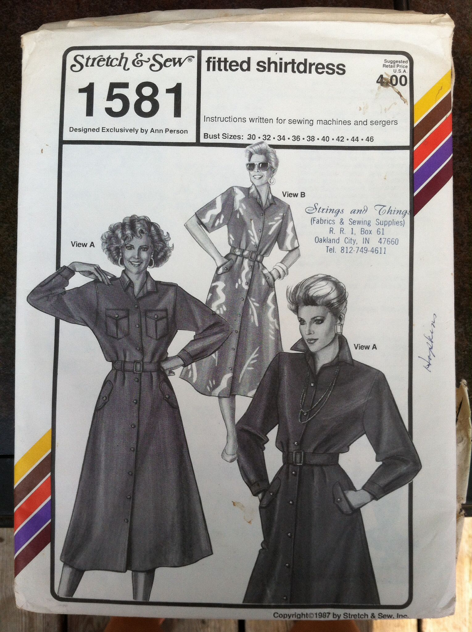 Stretch & Sew 1581 | My Stretch & Sew Patterns | Pinterest | Sew ...