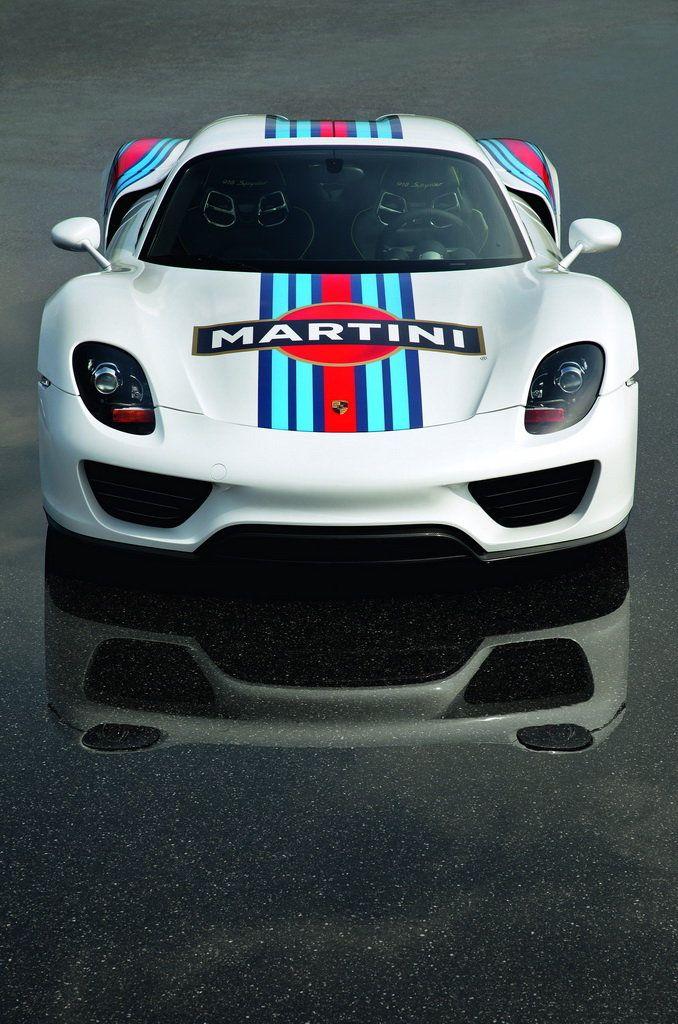 porsche 918 spyder prototype in iconic martini racing design amf automotive lifestyle magazine