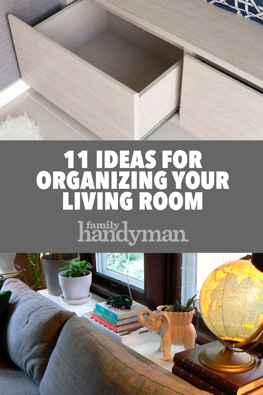 11 Ideas For Organizing Your Living Room Interior Design Living Room Living Room Spaces Living Room Organization #organizing #a #small #living #room