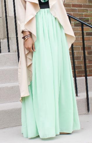 Mint Green Maxi Skirt Green Maxi Skirt Maxi Skirt Green Maxi