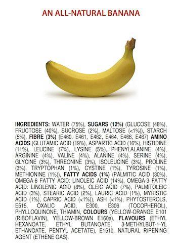 Si los plátanos llevasen etiqueta