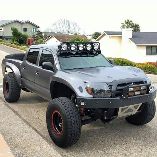 Truck Toyota: 1000+ Ideas About Lifted Tacoma On Pinterest