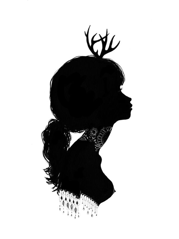 Chairmaine Olivia Illustrations Silhouette Art Art Art Prints