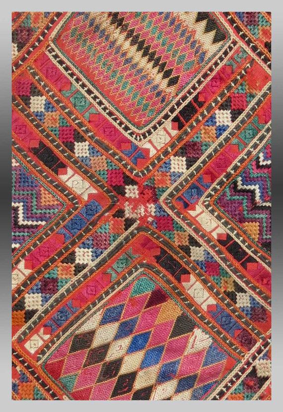 VINTATE EMBROIDERY BALUCH Embroidery southeast by tcEclecticImages