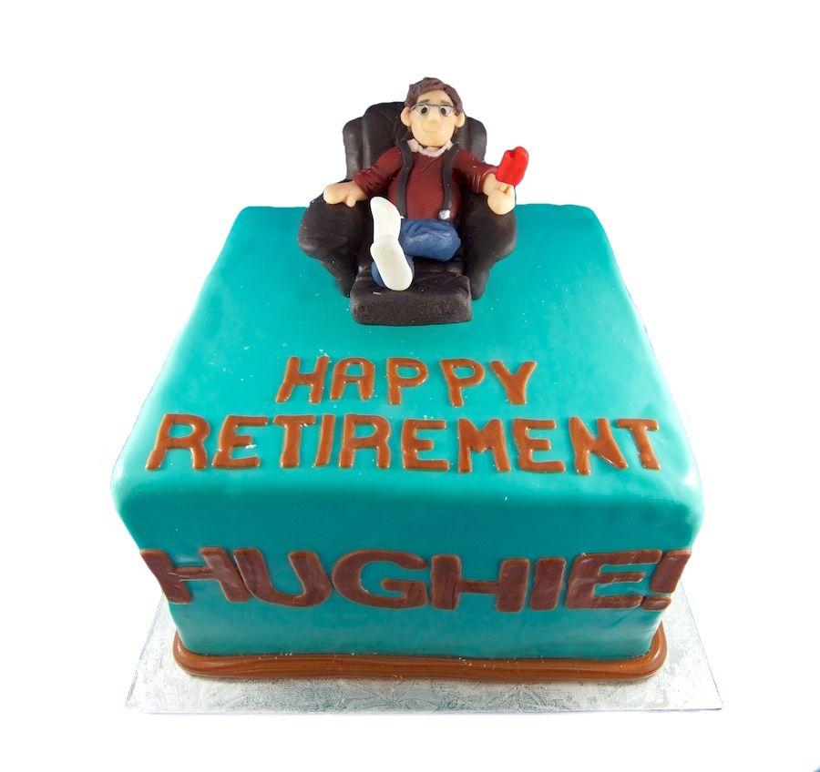 Mens Cakes Custom Lazyboy Modeling chocolate and Custom cake