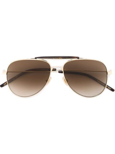 SAINT LAURENT aviator sunglasses.  saintlaurent  飞行员框太阳眼镜 ... eeede795eb9e