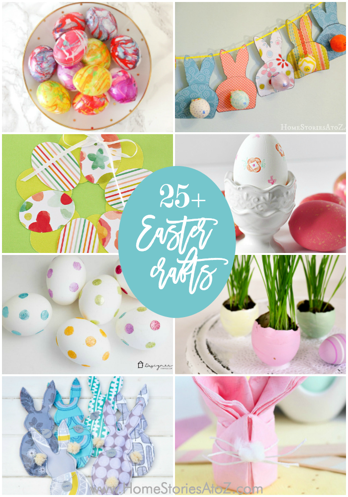 25 Easy Easter Crafts And Easter Home Decor Crafts Easy Craft Ideas For Home Decor Diy Decorating Easy