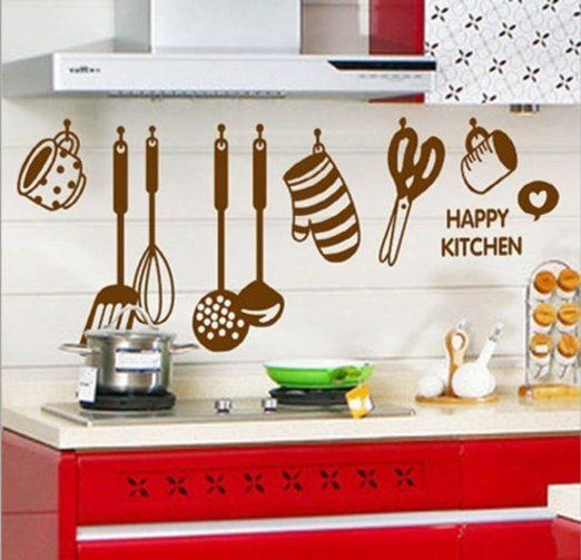 Decals Design Stickerskart Wall Stickers Stylish Kitchen Art
