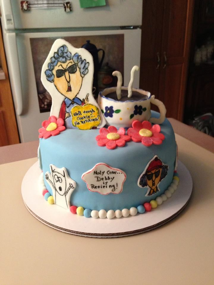 Maxine Retirement Cake Patty Cake S Cakes In 2019
