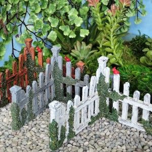 Superior Fairy Garden Miniature Corner Fence. Shop ONLINE Now For The Cutest Fairy  Garden Supplies.