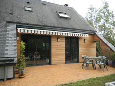 Rénovation d\'une maison bois de 1970 avec bardage et ...
