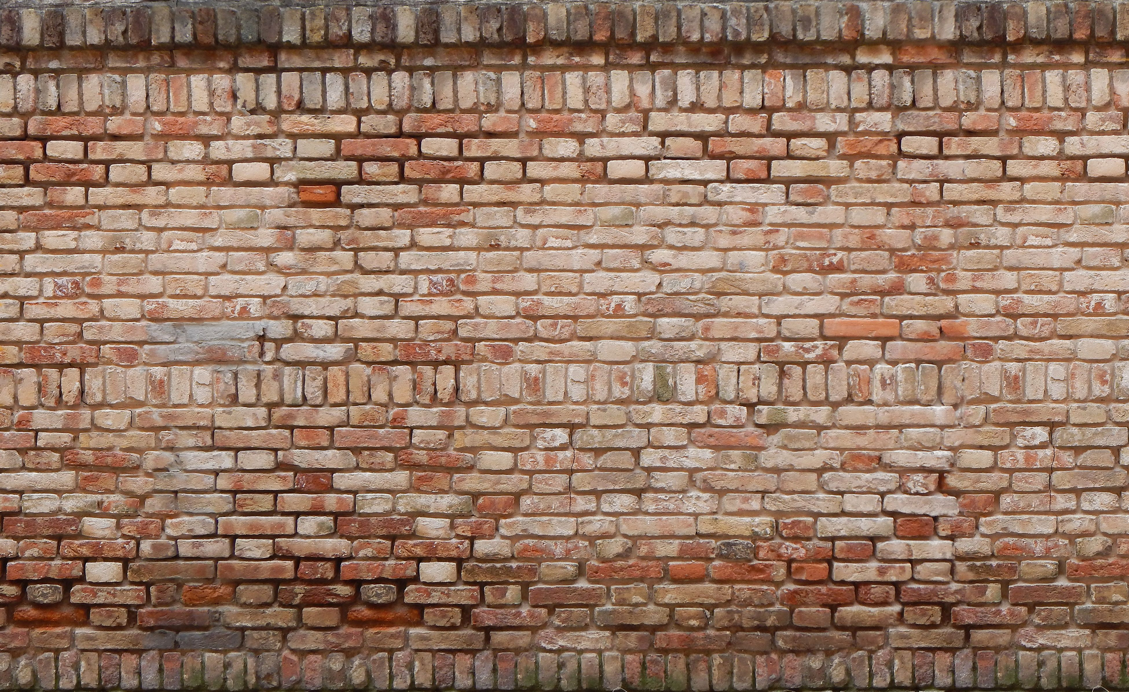 how to put up a brick wall