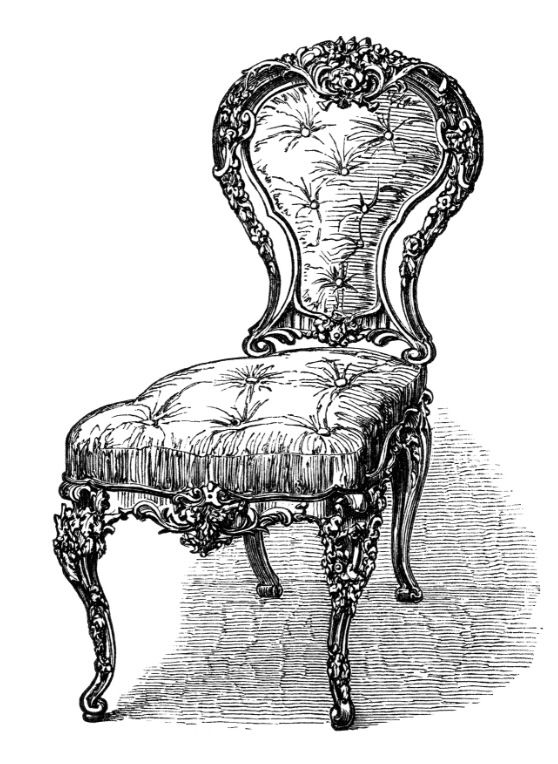 Pin By Emma The Lion On Vintage Furniture Clip Art Clip Art Vintage Vintage Graphics