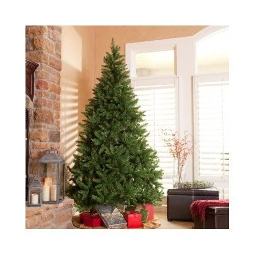 Pine Christmas Tree Classic Artificial 6 5 Feet Home Decoration Unlit With Images Pre Lit Christmas Tree Fake Christmas Trees Unlit Christmas Trees