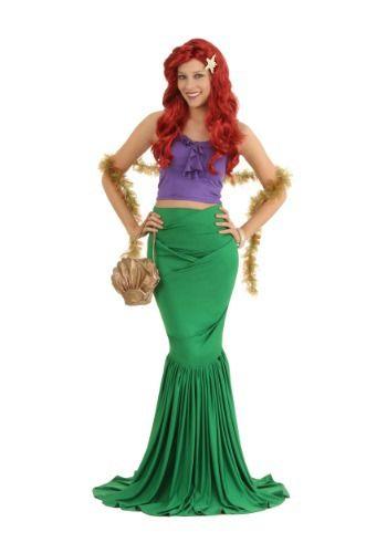 Adult Mermaid Costume  sc 1 st  Pinterest & Wish you lived in a fairy tale? This Adult Mermaid Costume looks ...