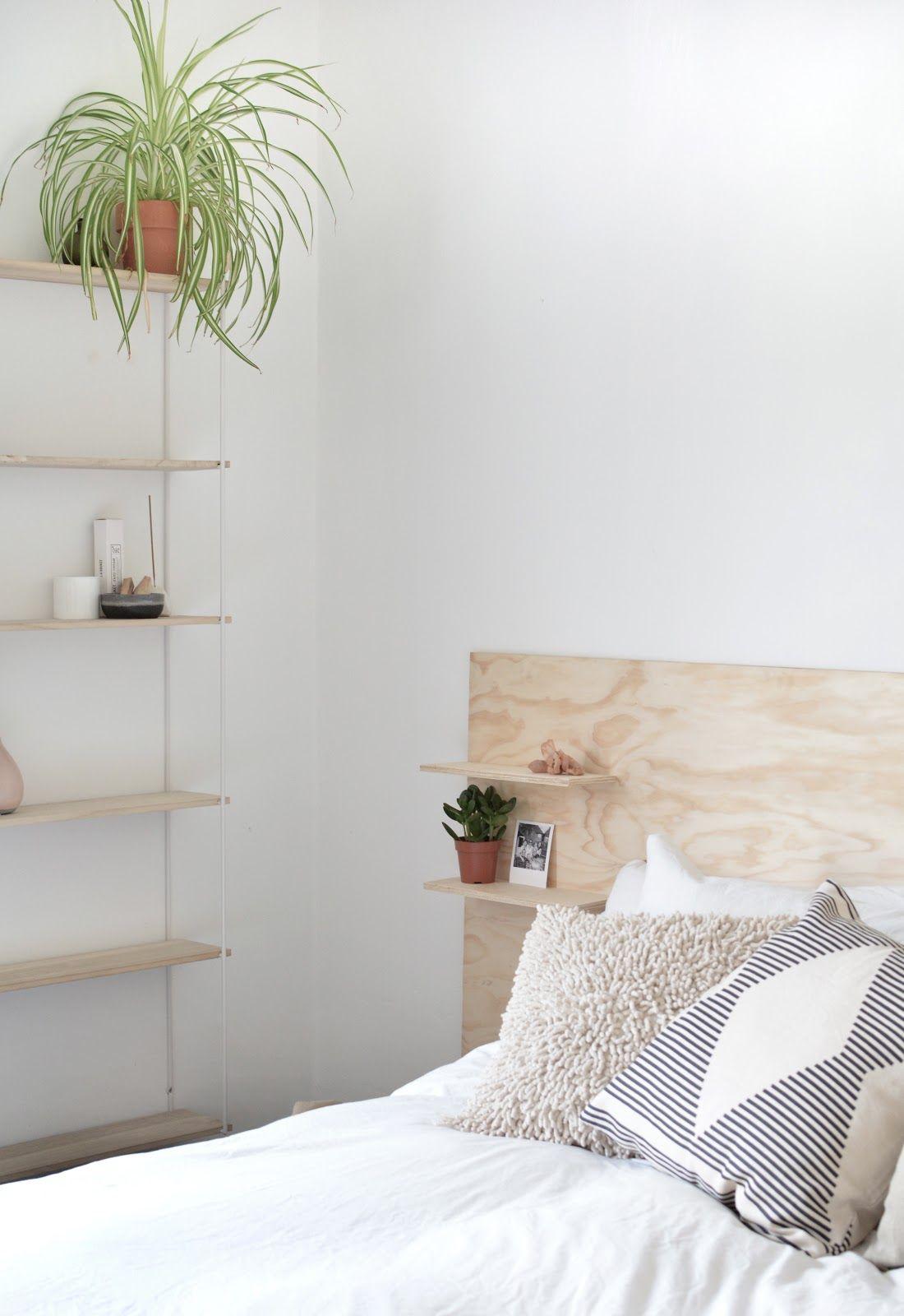 Diy Plywood Headboard Plywood Headboard Furniture Bedroom Diy
