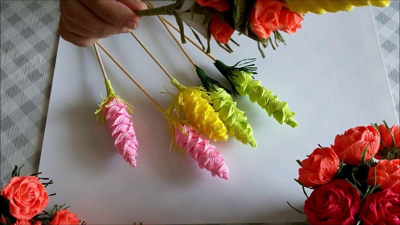Szyszka Z Krepiny Metoda Cukierkowa Diy In 2021 Paper Flowers Origami Crafts Crafts