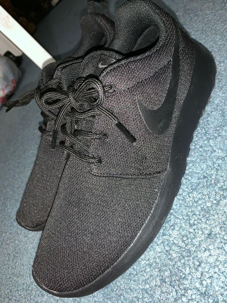 5cdfd1ba20cd8 Women s Nike Roshe Run Triple Black Size 8  fashion  clothing  shoes   accessories  womensshoes  athleticshoes (ebay link)
