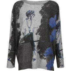 Alba Moda, Pullover in trendiger Oversizedform, grau Alba Moda #afrikanischekleidung