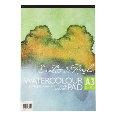 Watercolor Pad 5 5 X 8 5 30 Sheets Pack Of 3 Watercolor