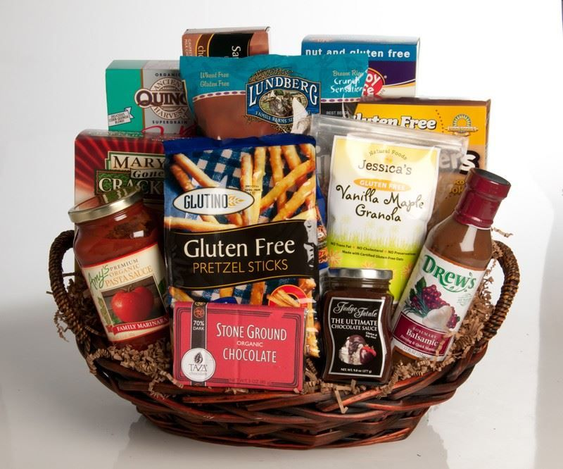 Picture of gluten free gift basket allergy free pinterest picture of gluten free gift basket negle Images