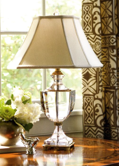 Solid Crystal Lamp Decor Table Lamp Home Decor