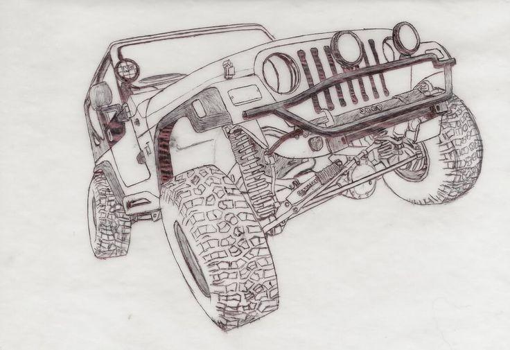 Kleurplaten Auto Jeep.Afbeeldingsresultaat Voor Kleurplaten Jeep A Journal Jeep Tattoo