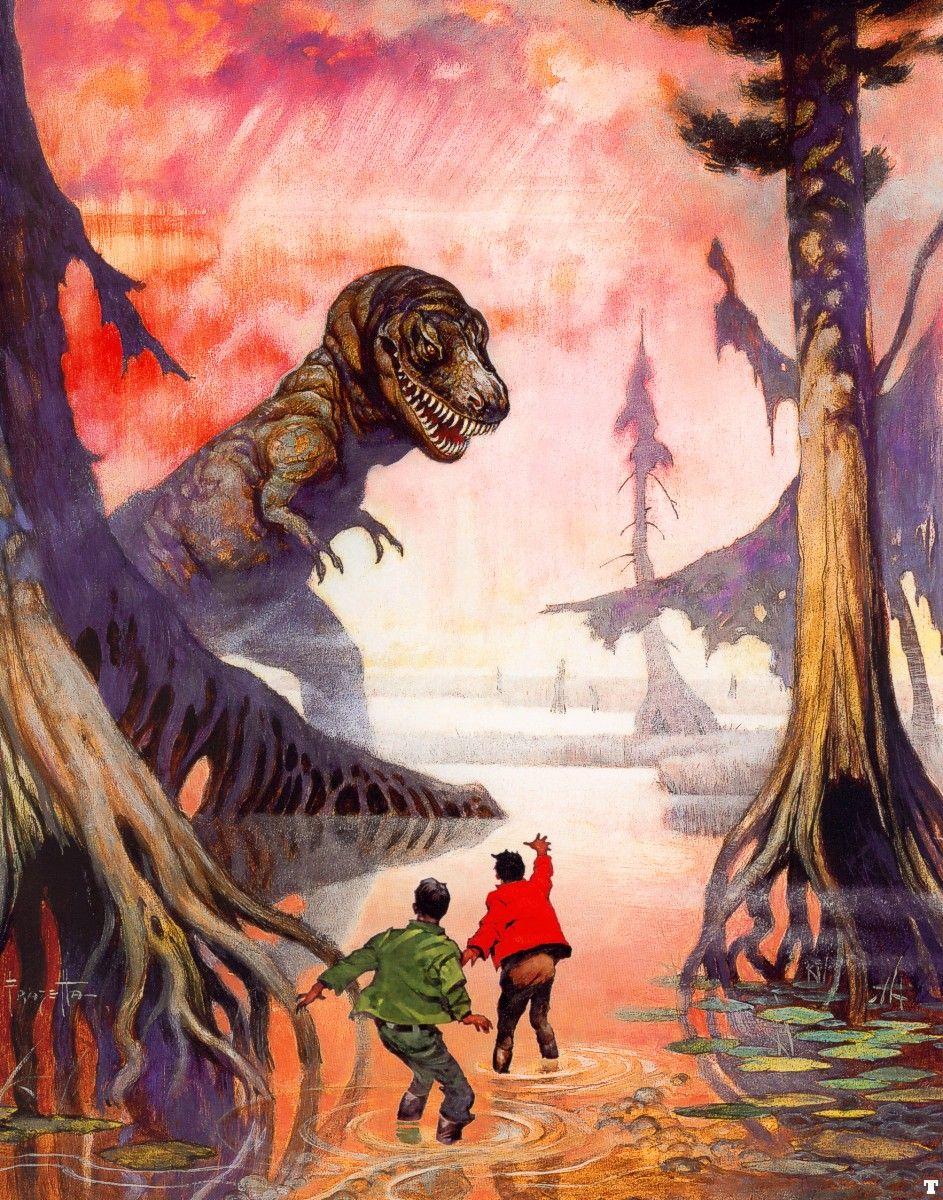 Swamp God - Frank Frazetta