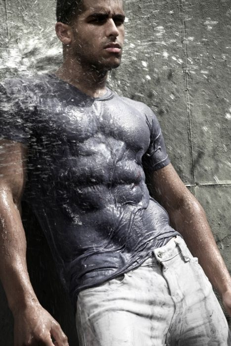 camisa mojada
