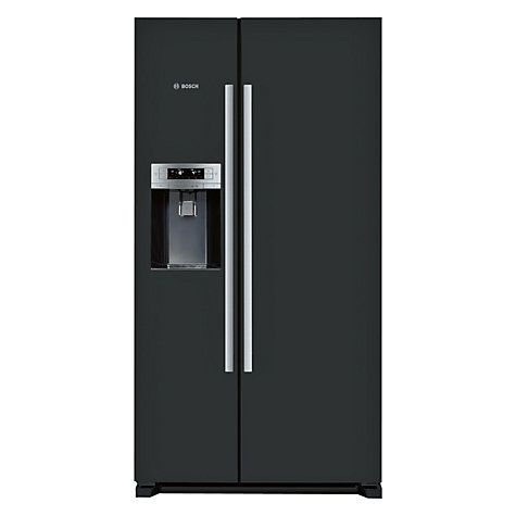 Bosch KAD90VB20G American Style Freestanding Fridge Freezer A Energy Rating 91cm Wide