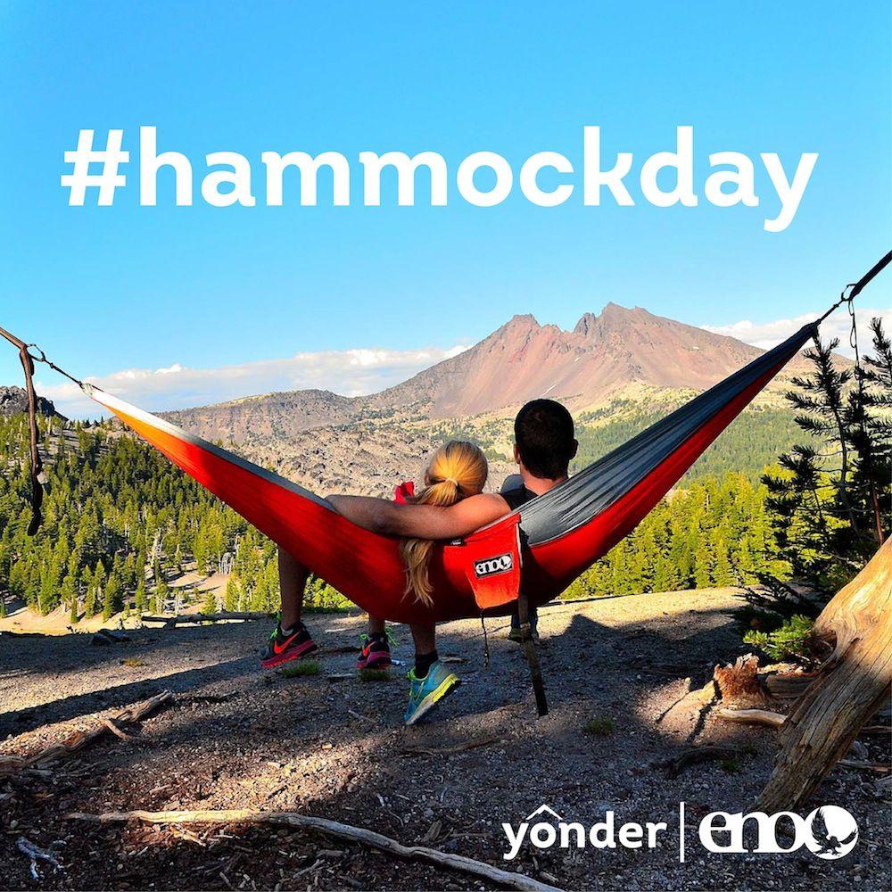 Hammock day surprise reveal want a free hammock from enohammocks